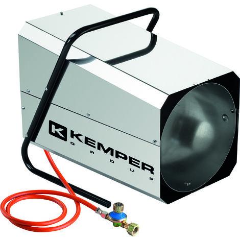 Canon a chaleur propane inox 1250m3/h - puissance reglable 22-42kw
