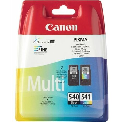 Canon Cartouche d'encre Canon PG540+CL541 5225B006 sw/c/c/m/y 2 pcs/pack.