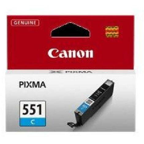 CANON Cartouche d'encre CLI-551C - Cyan - Capacité standard - 300 pages