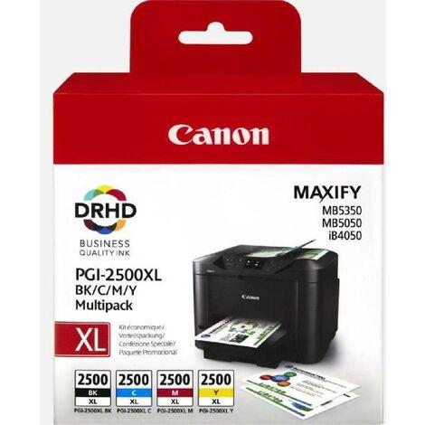 Canon Cartouche PGI-2500XL - Multipack (Cyan. Magenta. Jaune. Noir) - XL