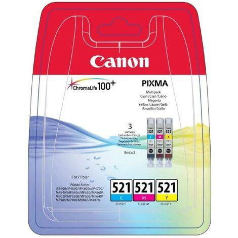 Canon CLI-521 Cartouche d'encre Couleurs