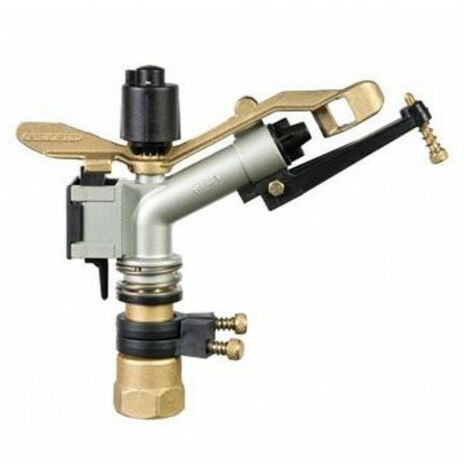 """canon d'irrigation funny 1 """" reglable. Portee 12,5 a 19,5 metres"""