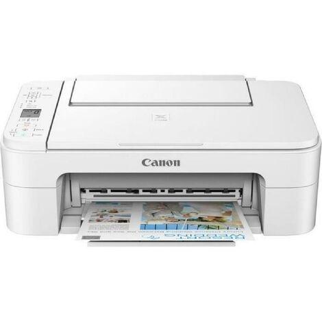 CANON Imprimante multifonctions 3 en 1 PIXMA TS3351 - Jet d'encre - WIFI - Blanche