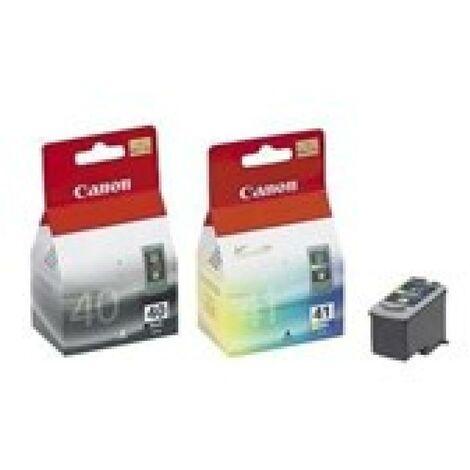 CANON Pack 2 Cartouches PG-40 / CL-41 - Noir + Couleur