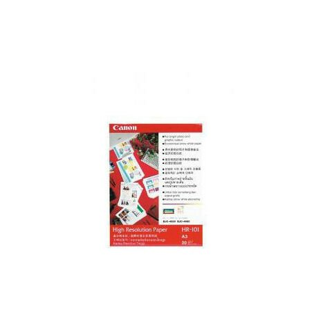 Canon Papier High Resolution photo specially smoothed blanc A3 297x420mm (A3) 106 g/m2 (1033A006)