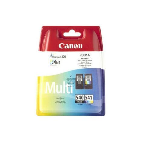 Canon PG-540 / CL-541 - Original - Encre à pigments - Noir - Cyan - Magenta - Jaune - Canon PIXMA MG3150 - PIXMA MX515 - 2 pièce(s) - 10 - 70% (5225B007)