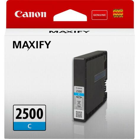 Canon PGI-2500C - Original - Cyan - Canon - MAXIFY MB5050 MAXIFY MB5150 MAXIFY MB5350 MAXIFY MB5155 MAXIFY iB4150 MAXIFY MB5455 MAXIFY iB4050... 9,6 ml (9301B001)