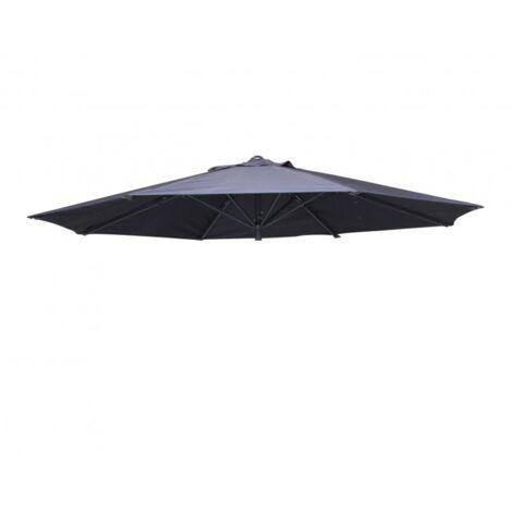 Canopy for wind-resistant 3.5 m centre pole parasol - Bora, Colour: Taupe