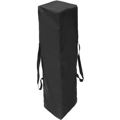 Canopy Tent Gazebo Anti-UV Waterproof Polyester Carry Storage Bag 140X34X34CM Black