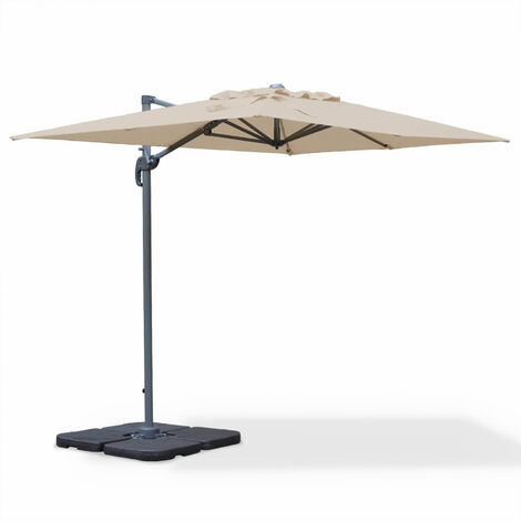 Cantilever parasol - 2x3m - Biscarosse
