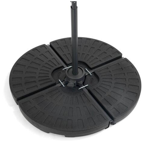 Christow 4-Piece Cantilever Parasol Fan Base 66kg