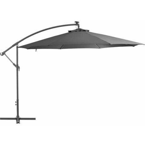 Cantilever Umbrella with Aluminium Pole 350 cm Anthracite