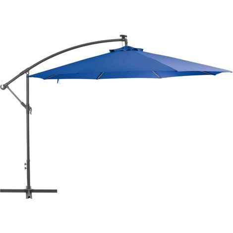 Cantilever Umbrella with Aluminium Pole 350 cm Blue