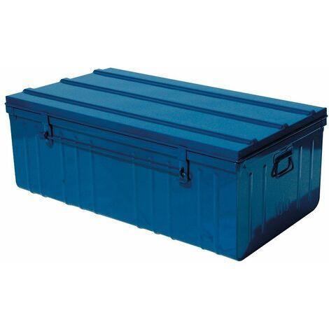 cantine metal 100cmx55x40 bleu
