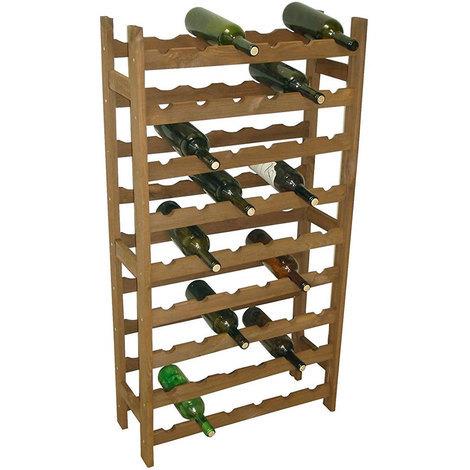 Cantinetta Porta Bottiglie Vino In Legno Sovrapponibile 16 Posti Casa Ristorante