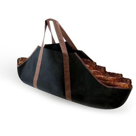 Canvas Log & Firewood Carrier Bag | M&W