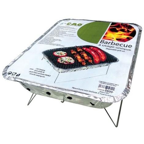 CAO - Barbecue à usage unique - 31x26cm