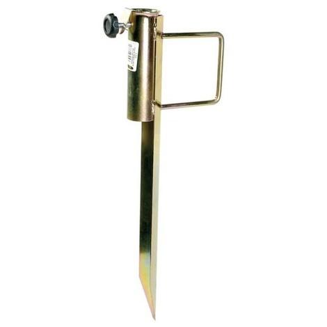 CAO - Pied parasol métal - pour mât D: 23 à 38 mm