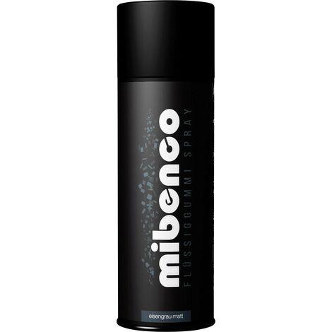 Caoutchouc liquide en spray mibenco 71427011 Couleur gris fer (mat) 400 ml A046271