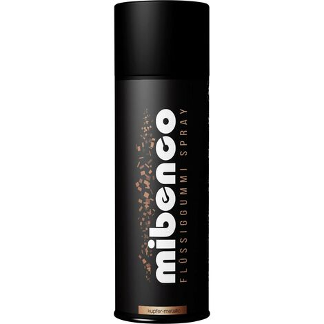 Caoutchouc liquide SPRAY mibenco 400 ml A046211