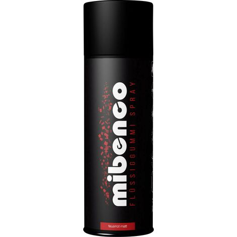 Caoutchouc liquide SPRAY mibenco 400 ml Y442871