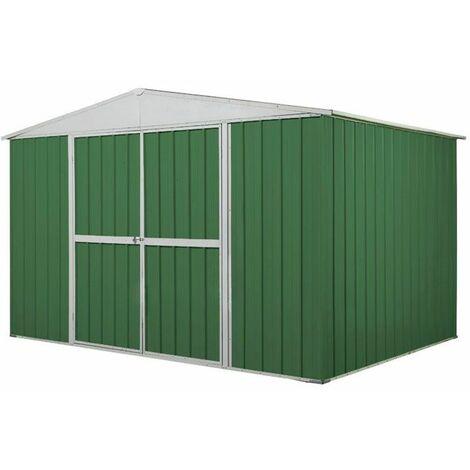 Capanno casetta giardino Box in Acciaio Zincato 360x175cm x h215cm - 110KG - 6,30mq