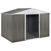 Capanno da giardino in metallo Dallas5,29 m² con copri legna