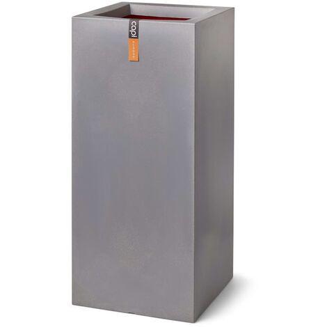 Capi Maceta rectangular Urban Smooth gris 36x79 cm