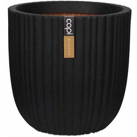 Capi Macetero Urban Tube 54x52 cm negro KBLT935