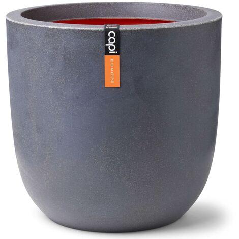 Capi Planter Urban Smooth Ball 43x41 cm Dark Grey - Grey