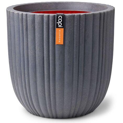 Capi Planter Urban Tube Ball 54x52 cm Dark Grey - Grey