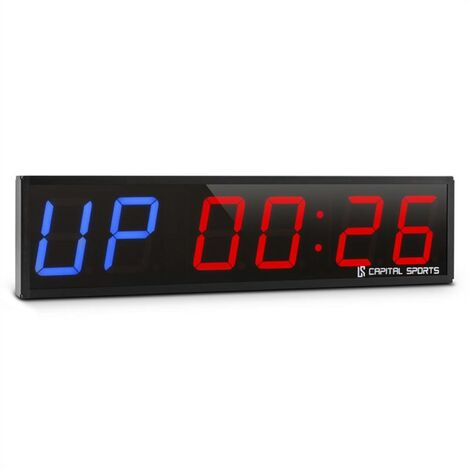 Capital Sports Timeter 2.0 Temporizador deportivo Cronómetro Cross-Training 6 dígitos