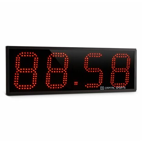 Capital Sports Timeter Temporizador Tabata Cronómetro Cross-Training 4 dígitos Señal sonora