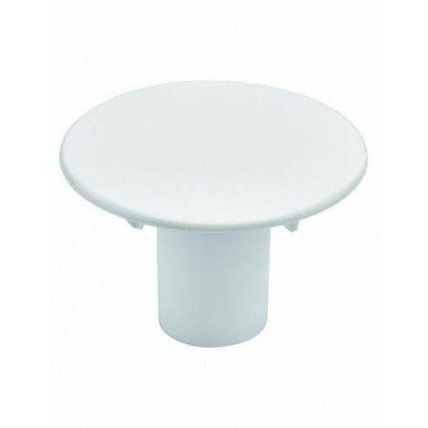 Capot ABS blanc avec tube garde d'eau diamètre 116mm