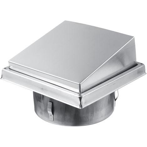 Capot de Cheminée Chapeau Grille Couverture Vent Ventilation Dia.150mm raccord de tuyau