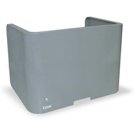 Capot interchangeable couleur ALU pour le BORA et CARA Extel 750533 WEATCPA 3