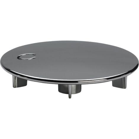 Capot pour bonde de douche DOMOPLEX diamètre 75mm, orifice 52mm