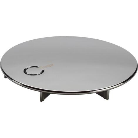 Capot pour bonde de douche DOMOPLEX diamètre 90mm, orifice 65mm