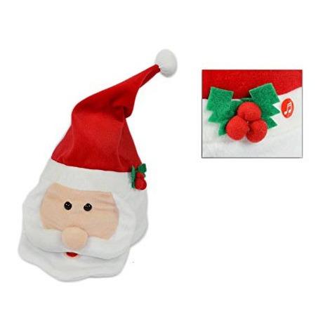Immagini Natale Movimento.Cappello Babbo Natale Con Movimento E Musica