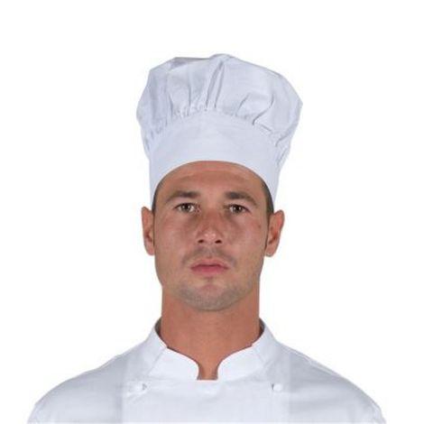 Cappello berretto copricapo cuoco a fungo bianco ristorazione cucina b7ae8626fbf7