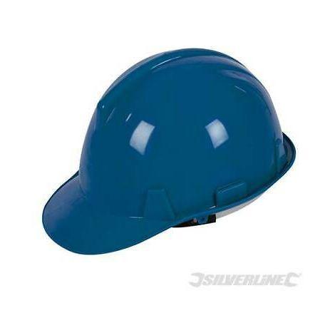 Cappello elmetto sicurezza lavoro regolabile per cantieri vari colori Silverline