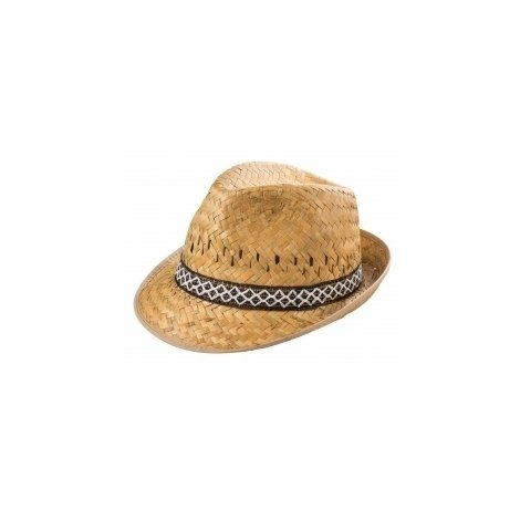 Cappello in paglia da uomo