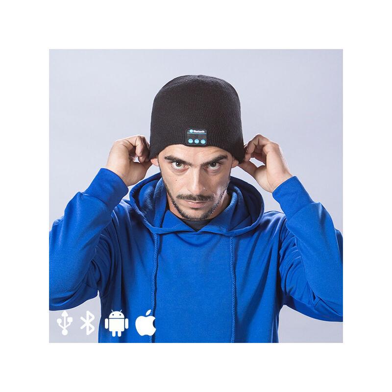 Cappello Sportivo con Bluetooth 145364 Colore:Nero - BIGBUY GADGET