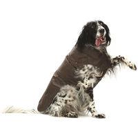 Cappotto impermeabile per cani MONTREAL marrone Croci 73376ab90c3d
