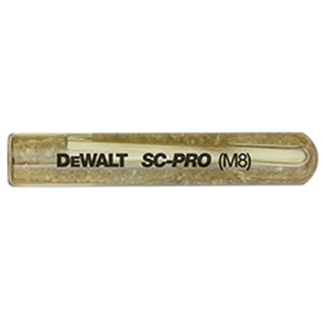 Cápsula de anclaje químico 31120 SC-PRO M9 DEWALT