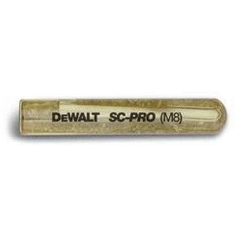 Cápsula de anclaje químico 31130 SC-PRO M11 DEWALT
