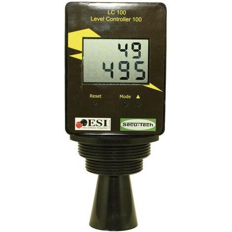 Capteur de niveau LC 100 / ST001001 (Distance de la surface du liquide 20 - 250 cm) max. 9 999 litres