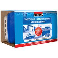 Capteur d'humidité 1Kg (boite + recharge) - 125941 - Soudal - -