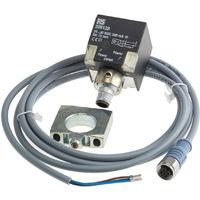 Capteur inductif, 10 → 30 V c.c., PNP-NON, 15 mm, Plastique
