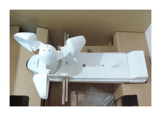 Capteur météorologique multifonction vent-lumière-hygrométrie-température extérieur LUXOR 412 THEBEN 4120000